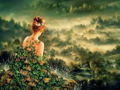 fantastic photographic modern Fantasy art for sale at Toperfect gallery. Buy the fantastic photographic modern Fantasy oil painting in Factory Price. James Last, Nature Spirits, Poems Beautiful, Beautiful Artwork, Beautiful People, Surrealism Painting, Summer Solstice, Fantasy Girl, Hippie Style