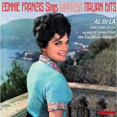 Connie Francis - Connie Francis Sings Modern Italian Hits, Red