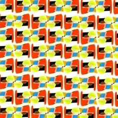 pattern ♥. By al borde llama