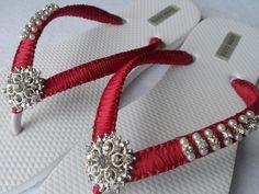 Borgoña fracasos de tirón de la boda / novia por RossyAccesorios