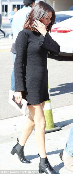 Selena Gomez and Justin Bieber attend Hillsong Church service in LA