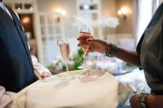 Kir Royals by Avenue Catering Concepts #Atlanta #Wedding #Catering