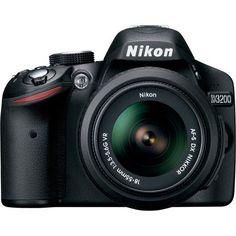 Nikon D3200 24.2 MP CMOS Digital SLR with 18-55mm f/3.5-5.6 AF-S DX VR NIKKOR Zoom Lens (Certified Refurbished) - http://www.rekomande.com/nikon-d3200-24-2-mp-cmos-digital-slr-with-18-55mm-f3-5-5-6-af-s-dx-vr-nikkor-zoom-lens-certified-refurbished/