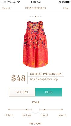 @stitchfix stylist: Not sure but think I like this though colors seem a little bright. Maybe with navy?