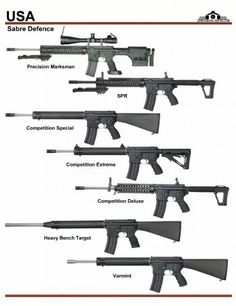 США: Sabre Defence SPR, Competition Rifles