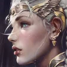 Image result for angelic warrior concept art