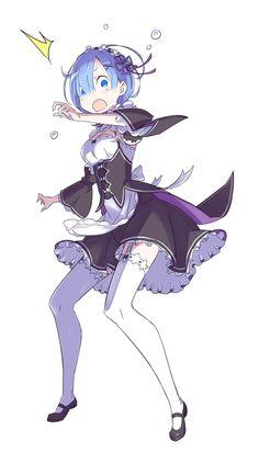 では早速行ってみましょう! どうぞ! まずは驚くレム!#rezero
