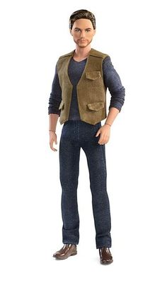 2018 JURASSIC WORLD CLAIRE Barbie BROWN CAPRI Pants for Barbie doll NEW