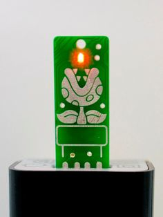 Piranha USB Circuit Board Magnet   LIGHTS UP by Boardaments, $12.00