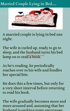 Husband was touching bits of Wife while she was Sleeping