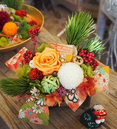 New Year's flower arrangement