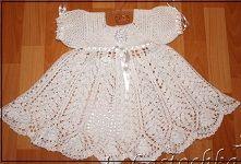 крестильное платье крючком - Самое интересное в блогах