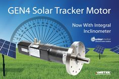 Dunkermotoren, a brand of AMETEK Precision Motion Control, has introduced a new series of tracking motors for the solar industry. The newly extended STM™ (Solar Tracker Motor) product line from Dunkermotoren now includes All-in-One brushless DC motors with optional onboard inclinometer and optional direct inclinometer input. www.dunkermotor.com