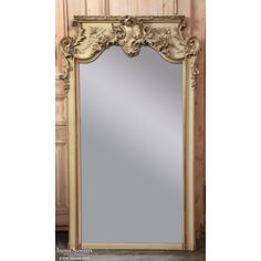 Antique Gilded Mirrors | Antique French Louis XV Painted Mirror | www.inessa.com