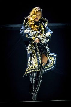 #inspiredby Rihanna with Givenchy Couture for Diamonds Tour