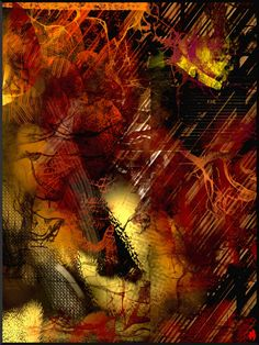 Lueur де Caverne;  цифровой живописи;  2015