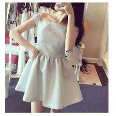 Buy 'Octavia – Off-Shoulder Short Sleeved Dress' with Free Shipping at YesStyle.co.uk. Browse and shop for thousands of Asian fashion items from China and more!