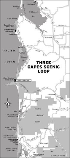 Three Capes Map: SAT 10/3