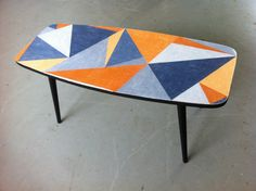 Fab 1960s coffee table, sold to funlover from Cley