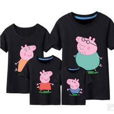 Pepe Pig & George Pig t shirs Family matching clothes summer Father Mother Kids Outfits family cotton short sleeve tee shirts-in Family Matching Outfits from Mother & Kids on Aliexpress.com | Alibaba Group