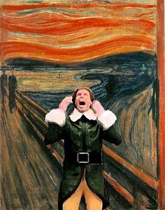 The Scream by Elf