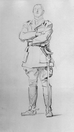 ART & ARTISTS / John Singer Sargent - Louis Botha 1922