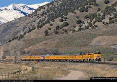 Union Pacific passenger train.