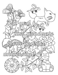 Orsett hall valentines day printable coloring pages ~ You may download these free printable swear word coloring ...