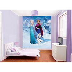 Papier Peint La Reine des neiges, Papier Peint Disney pas cher - Deco Soon