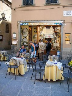 Been there in Cortona right before our cooking class with Allesandra Federici!