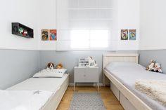 Kids Room Scandinavian design designed by: Meital Irany & Sivan Goldfeld Photo by: Shiran Carmel Best Classic Cars, Scandinavian Design, Kids Room, Toddler Bed, House Styles, Furniture, Home Decor, Child Bed, Room Kids
