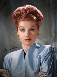 Lucille Ball (August 6, 1911 – April 26, 1989)