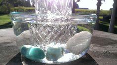 ~ For the Indirect Method ~ Amazonite and Quartz ~ Gem Water/ Elixir