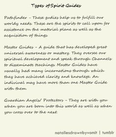 Spirit Guides.                                                       …