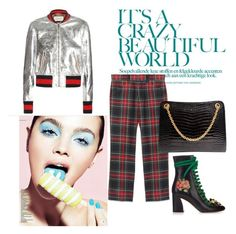 """# Gucci Fever"" by smakena ❤ liked on Polyvore featuring Gucci"