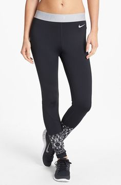 Nike 'Mosaic Hyperwarm' Dri-FIT Tights available at #Nordstrom