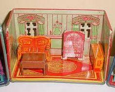 Resultado de imagem para tin toys furniture