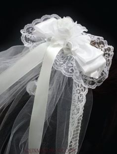 Gorgeous handmade First Communion Veils being featured at @Aquinas and More - so lovely!
