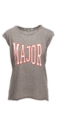 Pam & Gela Major Frankie Tee in Heather Grey / Manage Products / Catalog / Magento Admin