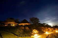 Tortilis Camp, Amboseli, Kenya. Tortilis Camp is widely regarded as the prime location for witnessing the majesty of Africa's largest mountain, Kilimanjaro. Situated in the Amboseli basin, the raised camp offers unrivaled views over the Kenyan plains, aptly named after the flat-topped tree Acacia Tortilis.