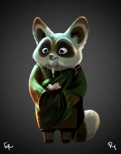 Digital painting of Master Shifu from Kung Fu Panda 3 - Chinese trailer 2015 Master Shifu, Cactus Pictures, Animé Fan Art, Kung Fu Panda 3, Dog Memorial, Memorial Ideas, First Birthday Shirts, Animation, Movies