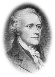 This is a very handsome man. But we will never know how much artistic license was taken. I am willing to believe that Alexander Hamilton probably looked a lot like this because of the similarity to other portraits that were from life and not copies of each other.