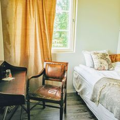 We have 5 comfortable rooms; Wingback Chair, Accent Chairs, Villa, Rooms, Curtains, Furniture, Home Decor, Upholstered Chairs, Bedrooms