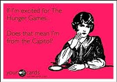 Don't forget that the Columbus Public Library is showing The Hunger Games today at 2:30pm!