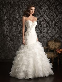 Allure Bridals Spring 2013 + My Dress of the Week - Belle the Magazine . The Wedding Blog For The Sophisticated Bride