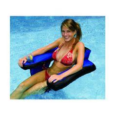 Amazon.com: Swimline Fabric Covered U-Seat Pool Inflatable: Patio, Lawn & Garden @Jennifer ....we need these!