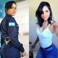 she can do both 19 1 2018 12 44 53 537 More beautiful badasses in (and out) of uniform Photos) Idf Women, Military Women, Girl Photo Poses, Girl Photos, Military Girl, Female Soldier, Outfit Trends, Girls Uniforms, Famous Girls
