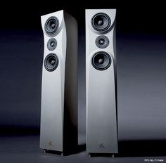Concrete audio speakers from Germany
