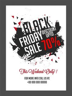 Black friday sales poster. Download it at freepik.com! #Freepik #freevector #poster #sale #shopping Black Friday, Vector Free, Templates, Poster, Profile, Shopping, Posters, User Profile, Stencils