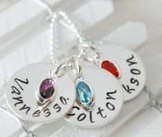 New Mom Necklace  Personalized Mom Necklace Gifts for by Studio463, $60.00